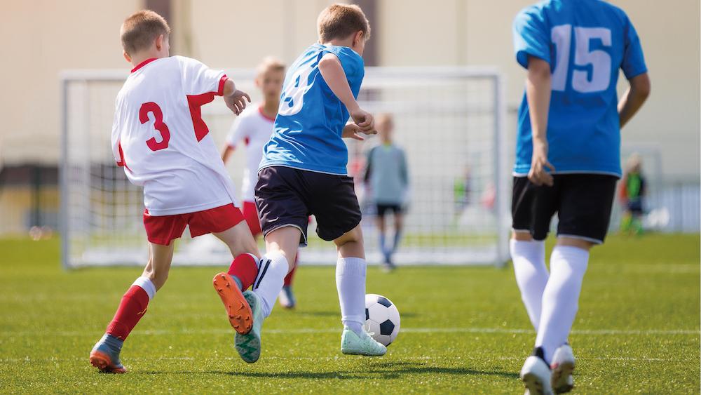 サッカー戦術アクション『マークを外す動き』で時間とスペースを作る