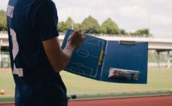 コーチと作戦ボード