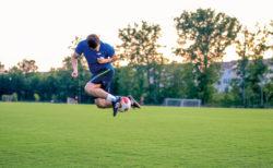 リフティング足技